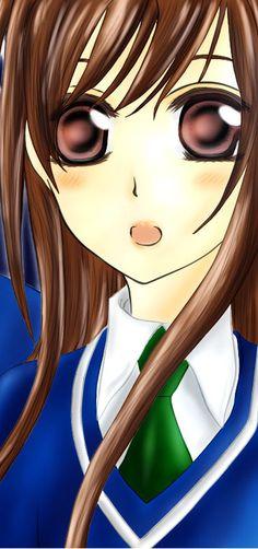 Yuki Cross in primary school uniform.