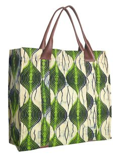 Zink Collection - Indego Africa Tote - Green, $68.00 (http://www.zinkcollection.com/indego-africa-tote-green/)