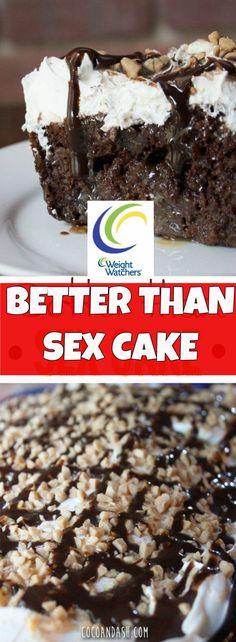 WEIGHT WATCHERS – BETTER THAN SEX CAKE Smart Points: 6
