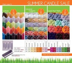 "JUST ANNOUNCED! Huge sale on current retiring PartyLite® Candle scents! Must use ""NIKKI HENDRIX"" as your host at this link to get these deals online! June 2012"