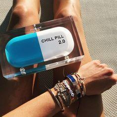 (92) Fancy - Chill Pill Clutch