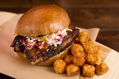 The Ultimate Guide To L.A.'s BEST Cheap Eats #refinery29  http://www.refinery29.com/cheap-food-los-angeles#slide4  Chop Daddy's  When it comes to BBQ, this Venice spot means business. All rubs, sauces, and smokes are made in house. Our Fave Dish: The Belly Up, $8.25Chop Daddy's, 1146 Abbot Kinney Boulevard; 310-450-1533. Bludso's Bar and Que Love Texas-style BBQ? This joint serves up out-of-this-world briskets, chicken,  pulled pork, cornbread, coleslaw, and more. Our Fave Dish: Pulled Pork…