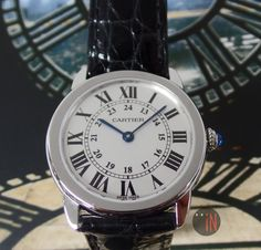 """Circles Thru Time!"" Cartier 29mm Ronde Solo Collection Quartz Ref#: W6700155 ($5,175.00 USD) http://www.elementintime.com/Cartier-Ronde-Solo-Collection-W6700155-Stainless-Steel-Small-Quartz-NIB"