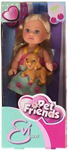 Simba Evi Love Pet Friends Fashion Dolls: Amazon.co.uk: Toys & Games