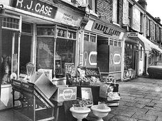 Shops on the Coventry Road near Birmingham City Football Club 1970s. Reproduced with the kind permission of Keith Berry from his on-line collection
