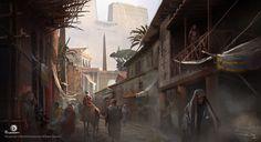 Assassin's Creed Origins, Martin Deschambault on ArtStation at https://www.artstation.com/artwork/y5zg5