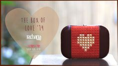 Embossed Lover - Clutch (The box of Love    ' 14) - Rachana Reddy