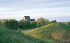 Gamla Uppsala - burial mounds, 6th & 7th century