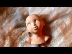 Лепка головы куклы. автор Татьяна Малушкина - YouTube
