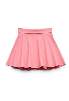 Knit Skater Skirt (Kids)   FOREVER21 #F21Girls #SummerForever