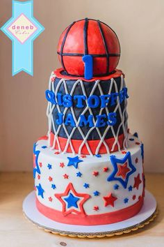 Another Basketball themed cake