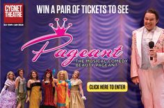 Win a pair of tickets to see Pageant The Musical Comedy Beauty Pageant at the Cygnet Theatre Company.
