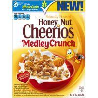 Cheerios Honey Nut Medley Crunch Cheerios, 13.1 oz - http://sleepychef.com/cheerios-honey-nut-medley-crunch-cheerios-13-1-oz/