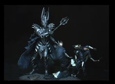 Lord of the Rings — Sauron vs The Numenorean Army Diorama