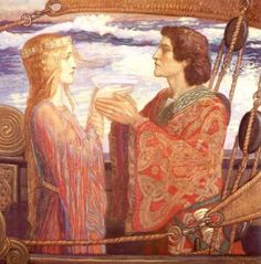 Tristan and Isolde, by John Duncan, 1913