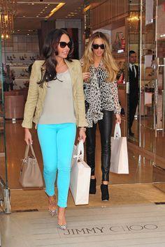 Tamara and Petra Ecclestone Shop Together