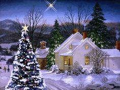 animatede gif christmas scenes   Animated Christmas Cards