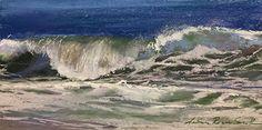 """Jeanne Rosier Smith ~ """"September Splash"""" ~ Pastel 8 x 16"""