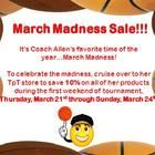 March Madness Sale!  10% off everything in the store, Thursday, 3/21 - Sunday, 3/24. Lots of great social studies resources - flipcharts, PowerPoints, activities, and more!