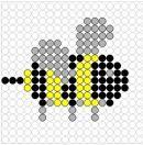 kriebelbeestjes kralenplank ~ Juf Milou
