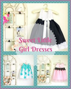 These dresses for little girls are so sweet. High quality and organic fabrics. CoolBebes Organic silks and cotton baby/kids clothing line. #ad#girls clothes#girlsdresses
