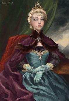 Elsa's coronation by GreyAnnis.deviantart.com on @deviantART