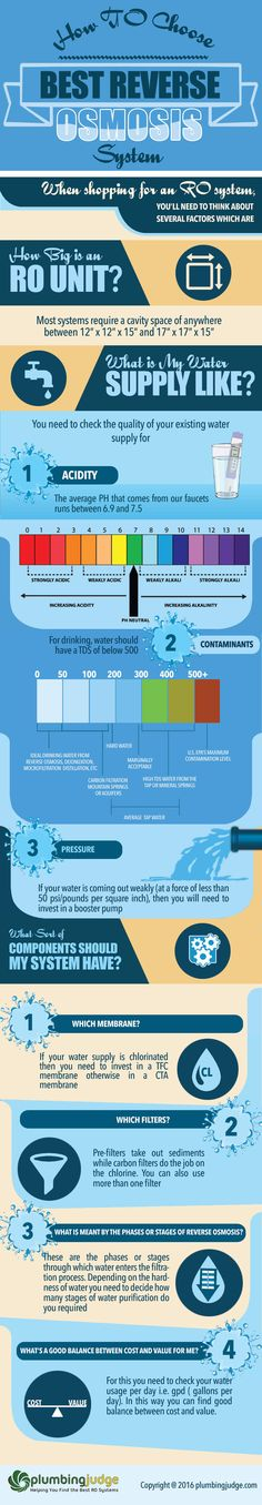 Best Reverse Osmosis System Review Infographic