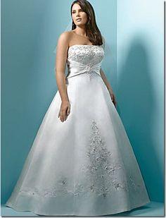 Imagenes de vestidos de novia para gorditas 2011
