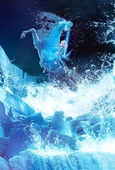 Elsa Riding the Nokk-Frozen 2 Frozen 2 Wallpaper, Disney Phone Wallpaper, Princesa Disney Frozen, Disney Frozen Elsa, Frozen Anime, Frozen Art, Frozen Movie, Disney Princess Pictures, Disney Pictures