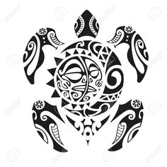 Turtle tattoo in Maori style. Vector illustration - Turtle Tattoo In Maori Style. Vector Illustration Royalty Free Kliparty, Vektory A Ilustrace. Maori Tattoos, Maori Tattoo Frau, Maori Tattoo Meanings, Arm Tattoo, Marquesan Tattoos, Irezumi Tattoos, Borneo Tattoos, Thai Tattoo, Polynesian Tattoos