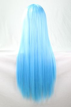 Women Light Blue Harajuku Heat Resistant Long Straight Anime Cosplay Wig One Size Blue Hair anime Blue cosplay Harajuku heat Light Long resistant size Straight Wig women Anime Cosplay, Cosplay Hair, Cosplay Wigs, Costume Wigs, Cosplay Dress, Frontal Hairstyles, Wig Hairstyles, Straight Hairstyles, Hair Dye Colors