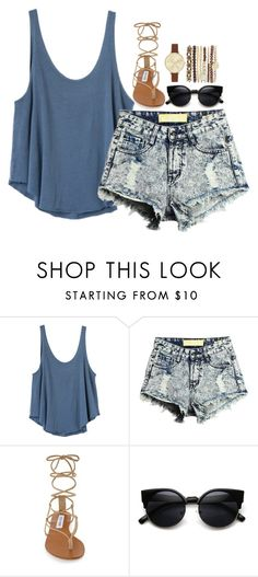 """""""Back to School: My Styles 2"""" by loubear223 ❤ liked on Polyvore featuring RVCA, Steve Madden and Jessica Carlyle"""