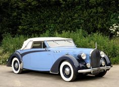 Voisin C 30 Cabriolet Dobos 1938 Classic Motors, Classic Cars, French Classic, Carros Retro, Matra, Assurance Auto, Cabriolet, Unique Cars, Vintage Trucks