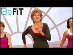 Jane Fonda: Fat-Burning Funk Dance Workout