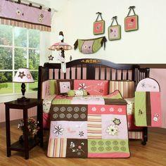 Boutique Floral Dream 13 Piece Crib Bedding Set