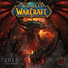 "World of WarCraft Mini Wall Calendar: With over 11 million active players, World of WarCraft has quickly become the world's most popular ""Massively Multiplayer Online Role Playing Game.""  $7.99  http://calendars.com/Video-Games/World-of-WarCraft-2013-Mini-Wall-Calendar/prod201300002197/?categoryId=cat130002=cat130002#"