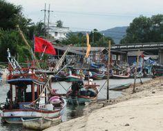 thailand houseboats | Thailand fishing boats