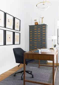 Emily Henderson Home Office Decor #home #style #interiordesign Small Home  Offices, Modern