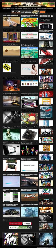 Video Gaming News 2x automation  Comprehensive authority aggregator with outstanding graphics in the hugely popular video gaming niche. On auto-pilot with double automation, the entire site changes every day all by itself! BIG site, give visitors interest and build traffic with 100s of thumbnailed headlines from the TOP gaming sites. All gaming platforms supported. Earn commissions from the latest games (and hardware) from Amazon, plus affiliate adverts.