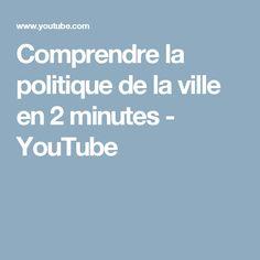 Comprendre la politique de la ville en 2 minutes - YouTube