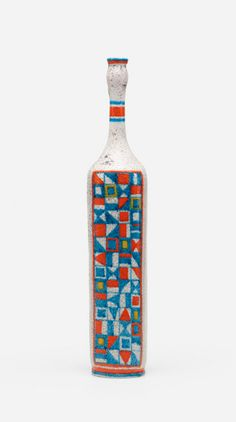 Guido Gambone; Glazed Stoneware Vase, c1955.