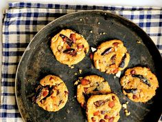 Almond, Fig and Orange Cookies