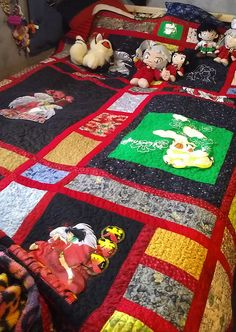Artifact #7: Inuyasha quilt. Literacy as an adaptation - adapting the characters of Inuyasha into their world. It takes special craftsmanship to make an entire quilt. The design pattern is amazing and it looks comfortable too. Context/function- creating a quilt that is Inuyasha inspired to use to go to bed and sleep with, showing that no matter how hard you work in a day fighting off evil demons or whatever you might be doing, you always have a home and bed to go back to when the day is…