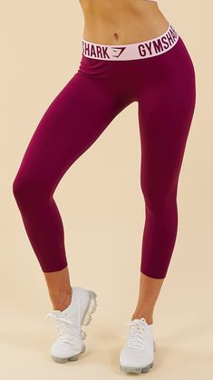 3fb49b7260ede The Gymshark Fit Cropped Leggings are your new favourite leggings. Coming  soon in Deep Plum