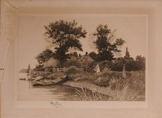 Lot:J. O. Anderson Etching & 3 Pcs. Framed Artwork, Lot Number:373A, Starting Bid:$20, Auctioneer:Ivy Auctions, Inc., Auction:J. O. Anderson Etching & 3 Pcs. Framed Artwork, Date:04:00 AM PT - May 9th, 2015