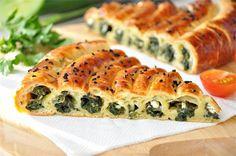 Пирог со шпинатом и сыром (очень вкусный пирог!). Рецепт c фото, мы подскажем, как приготовить!