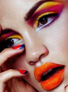 Pra inspirar: batom laranja! » Chata de Galocha! | Lu Ferreira