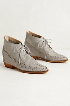 Astro Hidden Wedge Booties #anthropologie