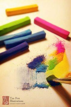 chalk pastel techniques 3                                                                                                                                                     More