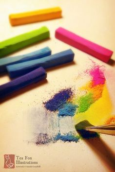 Chalk Pastel Techniques – Learn How To Use It | http://art.ekstrax.com/2015/08/chalk-pastel-techniques-learn-how-to-use-it.html